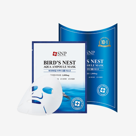 SNP Bird nest mask[10+1 pcs]  SNP蓝色燕窝补水面膜